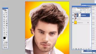 getlinkyoutube.com-photoshop tutorial hair cut methods in tamil - Training full free video template DVD