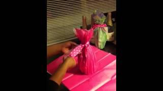 getlinkyoutube.com-como decorar botellas para quinceneras