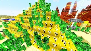 getlinkyoutube.com-LUCKY BLOCKS PYRAMID 2 MOD CHALLENGE - MINECRAFT MODDED MINI-GAME!