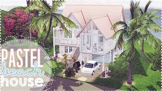 getlinkyoutube.com-♡ THE SIMS 3- Pastel Beach House ♡