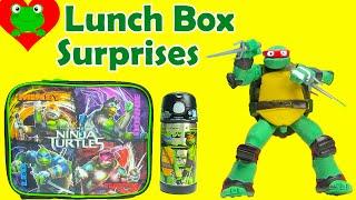 Teenage Mutant Ninja Turtles Lunch Box Surprises Back to School