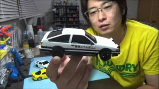 getlinkyoutube.com-イニシャルD 86 RX-7 FC FD を作る!⑥ なべさんのプラモデル製作記