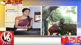 getlinkyoutube.com-Bithiri Sathi On Goat Milk Sales | Sathi Funny Conversation With Savitri  | Teenmaar News | V6 News