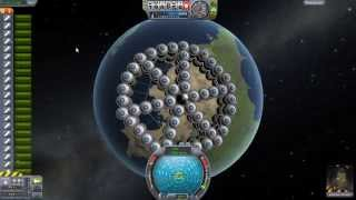 getlinkyoutube.com-Kerbal Space Program - Tower of Power (110 Solid Fuel Rockets, 55 Per Stage)