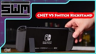 CNET Tries Out The Nintendo Switch Kickstand! Amazing Investigative Journalism!