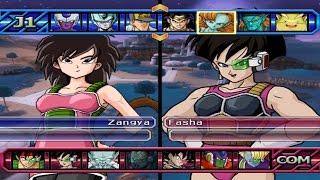 getlinkyoutube.com-Dragon Ball Z Budokai Tenkaichi 3 - Gine (Mother of Goku) VS Fasha *Epic Battle of Saiyans Girls