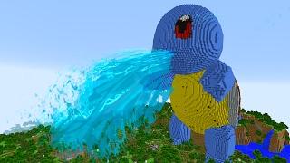 getlinkyoutube.com-MINECRAFT vs POKEMON GO : GIGA SQUIRTLE VS REZENDEEVIL !!