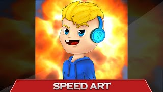 getlinkyoutube.com-SPEED ART - Flapgames @FlapGames (MOUSE)