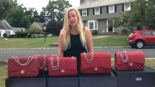 getlinkyoutube.com-Opulent Habits | Chanel Red Handbag: Comparison (Part 1)