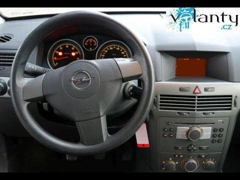 Demontage van het stuur / AirBag  Opel Astra H   2005 +  VOLANTY.CZ