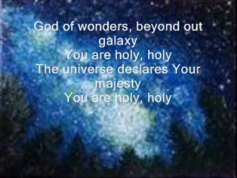 God of wonders By Chris Tomlin with lyrics