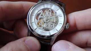 getlinkyoutube.com-Oris Artelier Skeleton Review