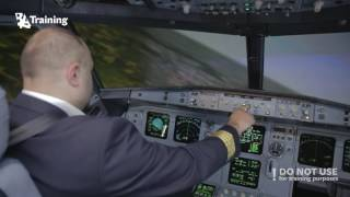 getlinkyoutube.com-What  to do if one of the engines fail right after V1?  Simulation in A320 Full Flight Simulator