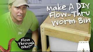 getlinkyoutube.com-How To Make A Flow Through Worm Composter