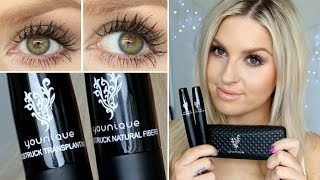 getlinkyoutube.com-First Impression Review ♡ Younique 3D Fibre Mascara, Does It Really Work?