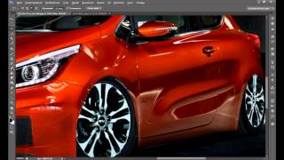 getlinkyoutube.com-photoshop cs6 virtual tuning виртуальный тюнинг kia pro ceed 2013