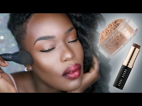 The Godley Glow | Contour BAKING and SETTING Dark Skin