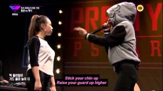 getlinkyoutube.com-Jessi HO vs Lil Cham ( Unpretty Rapstar ) Battle 2 ENGLISH subs
