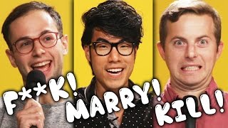 flushyoutube.com-The Try Guys Play F***, Marry, Kill: Ned's Wife Edition