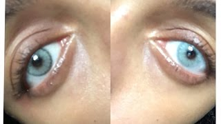 Solotica Cristal?! Two looks one Lens? Natural Colors vs. Hidrocor. OMG