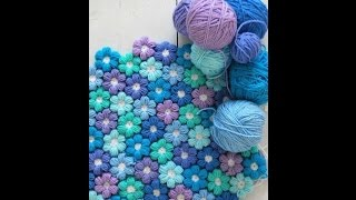 getlinkyoutube.com-Cours de crochet pour débutant / Fleurs facile