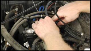 getlinkyoutube.com-1999 Nissan Pathfinder 3.3L Knock Sensor Relocation (also works on Frontier & QX4) OBDII P0325