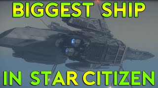 getlinkyoutube.com-Largest Ship In Star Citizen - Bengal Carrier - Thoughts & Opinion