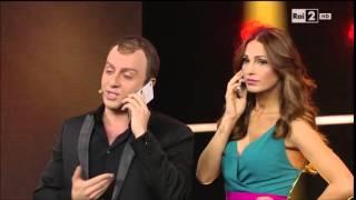 getlinkyoutube.com-Francesco Cicchella / Gigi D'Alessio con Anna Tatangelo - Made in Sud 31/03/2015
