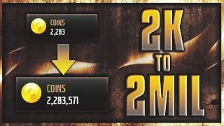 2,000 to 2,000,000 COINS! ULTIMATE Coin GUIDE! Madden Mobile 17