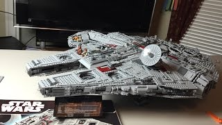 getlinkyoutube.com-Lego Star Wars UCS Millennium Falcon Speed Build and Review