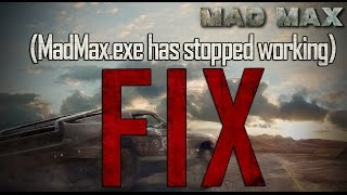 getlinkyoutube.com-How to Fix App crash in Mad Max ( MadMax.exe has stopped working )