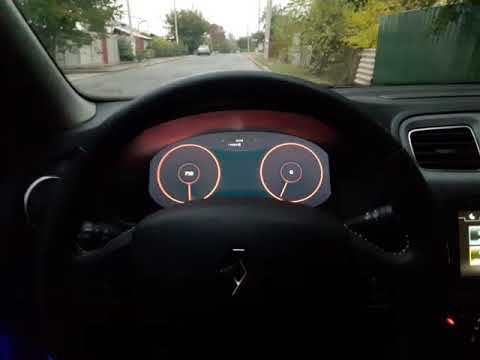 RealDash виртуальная панель приборов на Renault Logan II