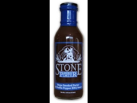 Stone Brewing Company Smoked Porter BBQ Sauce Review - (Ana Ng)