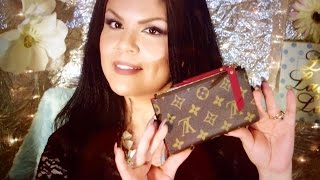 getlinkyoutube.com-Louis Vuitton ADELE COMPACT wallet UNBOXING | Martha Lorena