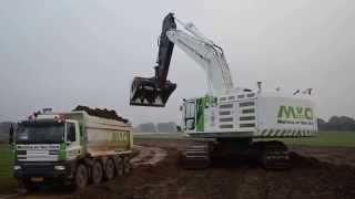 getlinkyoutube.com-First Cat 374F excavator in the Netherlands, Martens en Van Oord