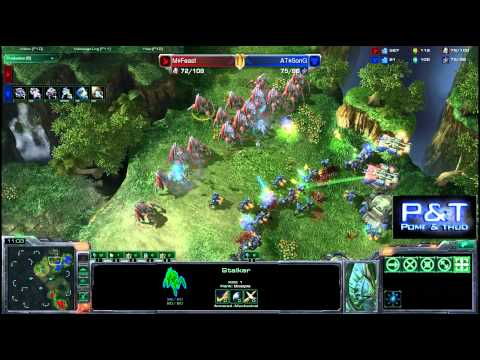 (HD503) Song vs Feast - TvP - Starcraft 2 Replay [FR]
