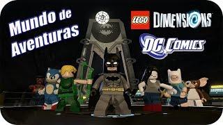 LEGO Dimensions - DC Comics - Mundo de Aventuras (Modo Libre) Parte 1