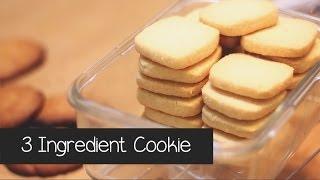 getlinkyoutube.com-3 Ingredient Cookies in 3 Minutes