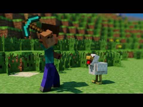 Quest for Food - Minecraft Animation