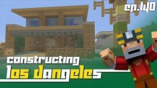 Minecraft Xbox 360: Constructing Los Dangeles - Episode 140! (Surf Shack!)