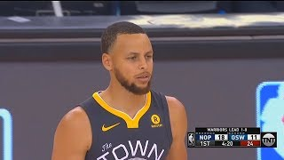 Stephen Curry Returns From Ankle Injury! 2018 NBA Playoffs