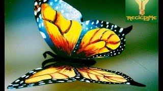 getlinkyoutube.com-cómo crear mariposas de lata aluminio♥