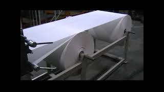 getlinkyoutube.com-Masina za toalet papir i ubruse u listicima - Machine for toilet pape and towels in layers v-v