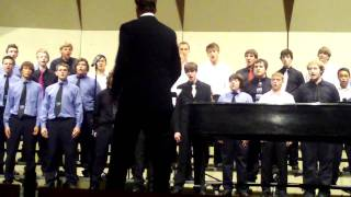 getlinkyoutube.com-Oshkosh West High School Men of Choir sing the Pirate Song