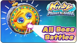 getlinkyoutube.com-Kirby Planet Robobot All Bosses