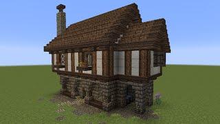 getlinkyoutube.com-Minecraft Tutorial - Kleines Haus (mittelalterlich)