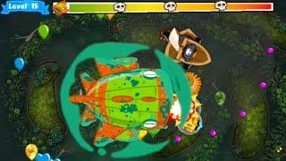 getlinkyoutube.com-Bloons Monkey City: Bloonarius lvl 15 Strategy!