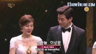 [Engsub] Kim Ha Neul x Lee Sang Yoon cut - Best Couple + Best kiss scene (KBS Drama Awards 2016)