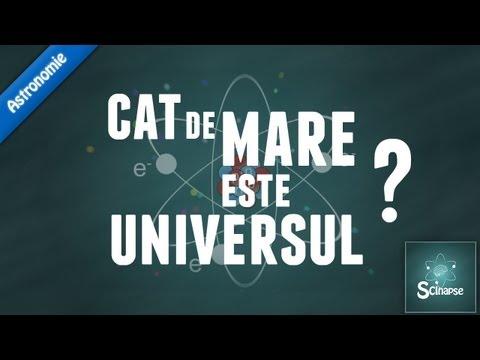 Cat de mare este Universul?