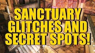getlinkyoutube.com-Borderlands 2: Sanctuary Glitches and Secret Spots! (Under Map, Hidden Chest, Secret Rooms!)